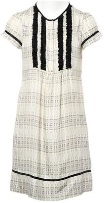 Thomas Wylde Ecru Silk Dresses