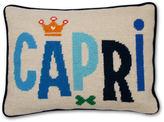 Jonathan Adler Capri Needlepoint Throw Pillow