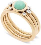 Michael Kors Pavé Colored Stone Ring