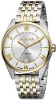 Roberto Cavalli Men's RV1G013M0096 CLASSIC Automatic Yellow Gold IP Two Tone Date Watch