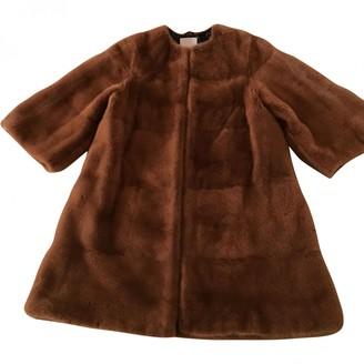 Roksanda Ilincic Brown Mink Coat for Women