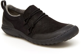 Jambu Ashton Snake Embossed Slip-On Sneaker