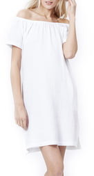 Loyal Hana Ariel Off The Shoulder Maternity/Nursing Dress