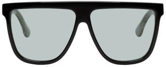 Gucci Black Square Guillotchet Sunglasses