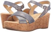 Cordani Blue Shimmer Dorian Leather Sandal