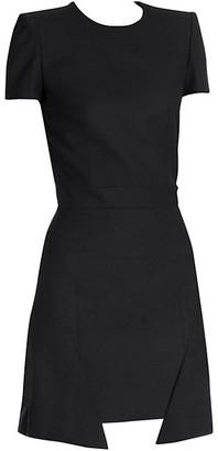 Alexander McQueen Step Hem Mini Dress