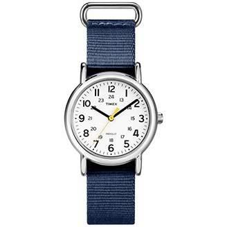 Timex Women's TW2U29900 Weekender 31 Fabric Slip-Thru Strap Watch