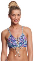 Kenneth Cole Reaction Bohemian Spirit Push Up Midkini Top 8158817