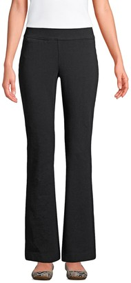 Lands' End Women's Starfish Bootcut Pull-On Pants