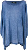 Diesel draped blouse - women - viscose - One Size