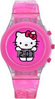 Hello Kitty Girls Pink Strap Watch-Hk4011jc