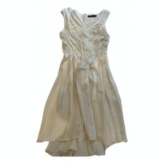 Marios Schwab White Silk Dress for Women