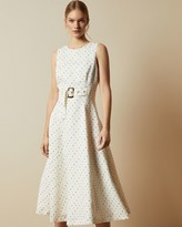 Thumbnail for your product : Ted Baker Spotted A-line Midi Dress