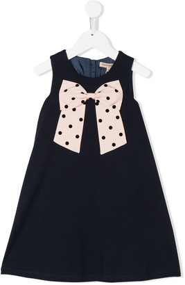Hucklebones London Bow Detail Dress