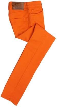 RED Valentino Orange Cotton Trousers