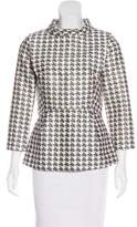 Other Stories & Houndstooth Print Top