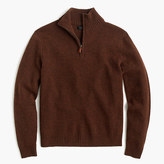 J.Crew Tall lambswool half-zip sweater