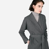 Everlane The Belted Wool Shawl Coat