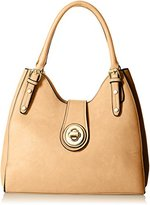 MG Collection Structured Satchel Bag