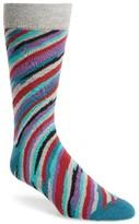 Lorenzo Uomo Men's Brush Strokes Socks