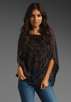 Twelfth St. By Cynthia Vincent By Cynthia Vincent Prato Reversible Caftan
