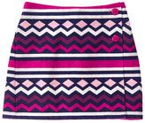 Gymboree Fuchsia Geometric Stripe Skirt - Girls