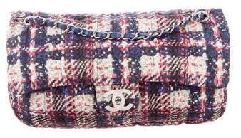 Chanel Nylon Tweed Printed Flap Bag