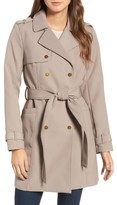 Kenneth Cole New York Women's Belted Trench Coat