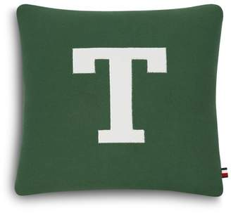"Tommy Hilfiger Tommy Letterman Decorative Pillow, 18"" x 18"""