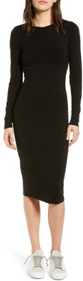 Ninety Percent Fitted Long Sleeve Dress