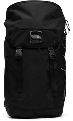 Yohji Yamamoto Black New Era Edition Logo Backpack