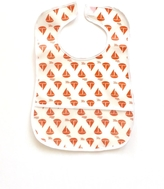 3 Marthas Sailboat Laminated Bib