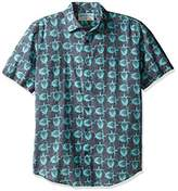 Margaritaville Men's Sea Turtles Bbq Shirt