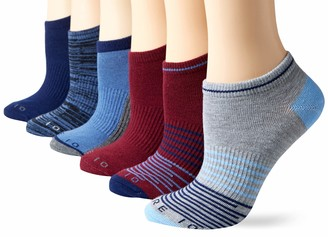 Core 10 Amazon Brand Women's 6-Pack Everyday Sport Athletic No Show Socks