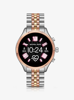Michael Kors Gen 5 Lexington Tri-Tone Smartwatch - Tri Tone