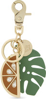 See by Chloe Watermelon and leaf keyring