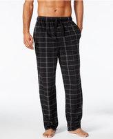 Perry Ellis Men's Open-Grid Fleece Pajama Pants