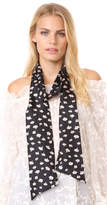 Madewell Seattle Floral Skinny Mensy Scarf