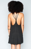 MUMU Martini Dress ~ Black Crisp
