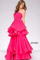 Jovani Strapless Sweetheart Neckline Prom Dress 47869