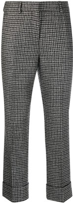 Incotex Houndstooth Trousers