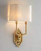 Horchow Visual Comfort Silhouette Fretwork Sconce