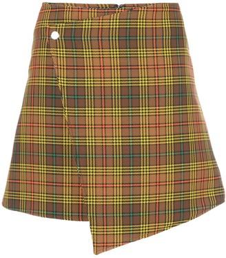 Ellery Beatty wrap mini skirt