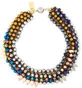 Assad Mounser Multi-colored Beaded Necklace