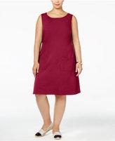 Love Squared Trendy Plus Size Shift Dress