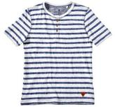 Tom Tailor Boy's Short-Sleeve Striped Henley