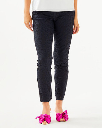 """Lilly Pulitzer 29"""" Kelly Lace Skinny Ankle Pant"""