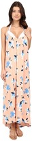 Vince Camuto Floral Racerback Maxi Cover-Up Dress