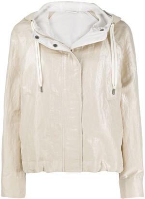 Brunello Cucinelli Cropped Lightweight Jacket