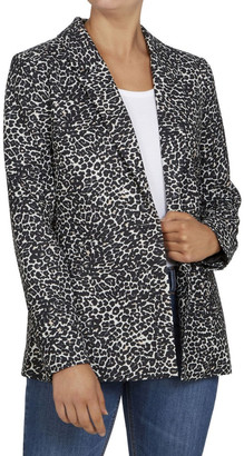 French Connection Animal Print Blazer No
